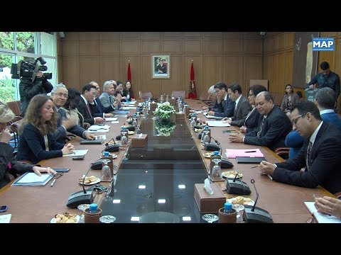 لقاء بالرباط للتحضير للاجتماعات السنوية للبنك الدولي وصندوق النقد الدولي المقررة سنة 2021 بمراكش