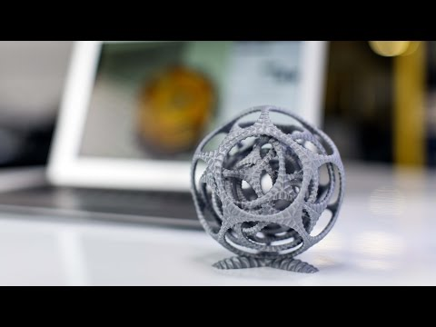 Ultimaker 3 Gyro Timelapse - Dual Extrusion With Water-soluble Pva Support