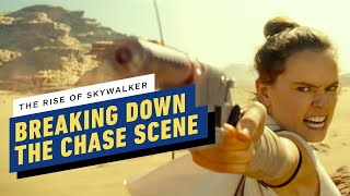 Star Wars: The Rise of Skywalker Cast on Filming the Big Chase (Daisy Ridley, Oscar Isaac) by IGN