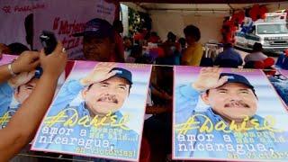Nicaragua celebra el 38º aniversario de la Revolución Sandinista, que derrocó la dictadura de Anastasio Somoza y con una dinastía que había permanecido en ...
