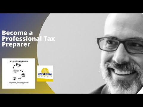 Tax Professional - Universal Accounting Center Roger Knecht & Scott McKinley Why become a Professional Tax Preparer? What is changing in the tax profession? Where are the oppor...