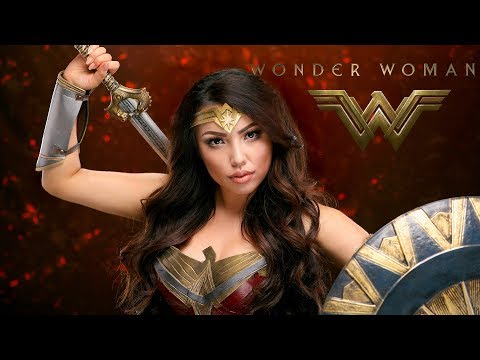 Wonder Woman Makeup Transformation