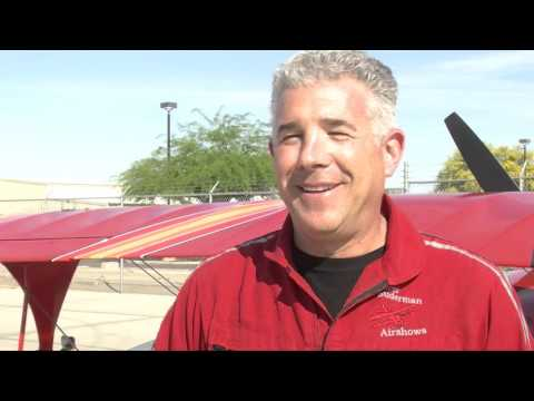 Acrobatic pilot breaks own record in Yuma