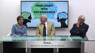 HABLANDO NOS ENTENDEMOS - INVITADOS DRA SUSANA CORDERO DE ESPINOSA Y FRANCISCO PROAÑO ARANDI