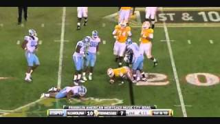 "Zach Brown vs Tennessee 2010 ""Music City Bowl"""