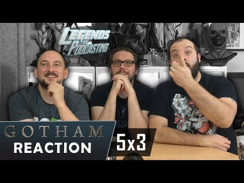 """Gotham Episode 5x3 """"Penguin, Our Hero"""" Reaction 