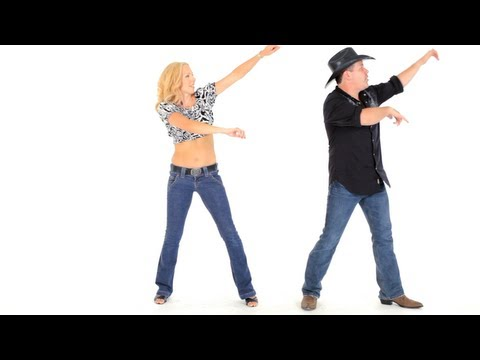 How to Do the Wobble | Line Dancing (видео)