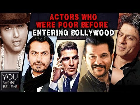Bollywood Actors Who Were Poor Before Entering Bol