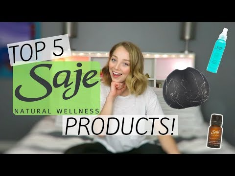TOP 5 SAJE NATURAL WELLNESS PRODUCTS!