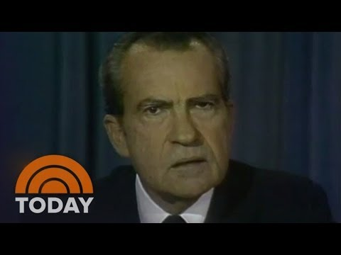President Nixon Resigns: Watergate Scandal   Archives   TODAY