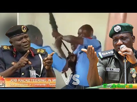 Police and NSCDC Officials Fight Over IGP Transmission Speech