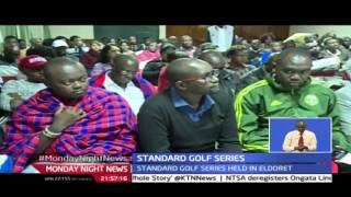 Monday Night News: Gabriel Lagat Wins In The Standard Golf Series Held In Eldoret 26/7/2016