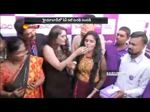 Gentleman Movie Fame Surabhi Hulchul in Hyderabad