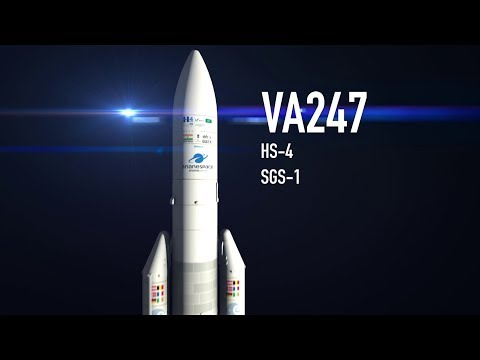 Arianespace TV : VA 247 Launch Sequence © arianespace