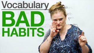 Speaking English - Bad Habits