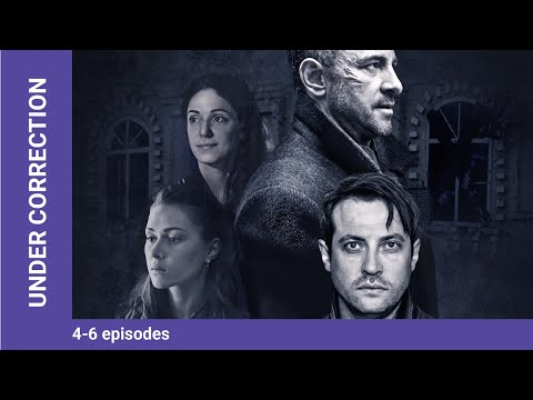 Under Correction. Episodes 4-6. Russian TV Series. Adventure Detective. English Subtitles
