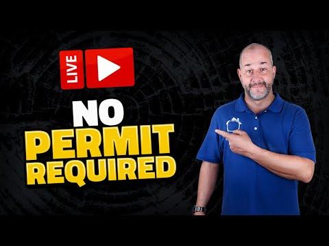 No permit Required