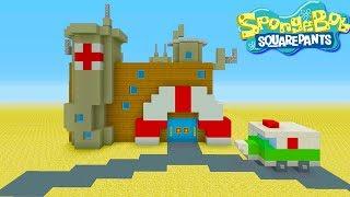 "Minecraft Tutorial: How To Make The Hospital from Spongebob ""Spongebob Squarepants"""