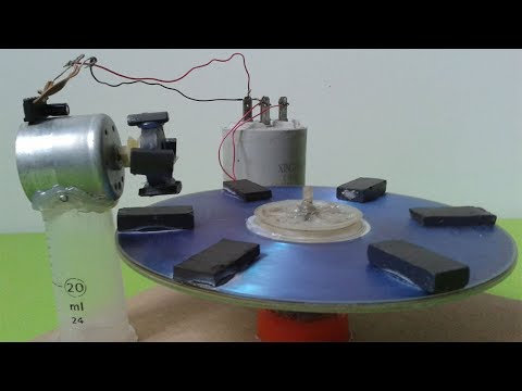 Free Energy Science Experiment Self Running Machine