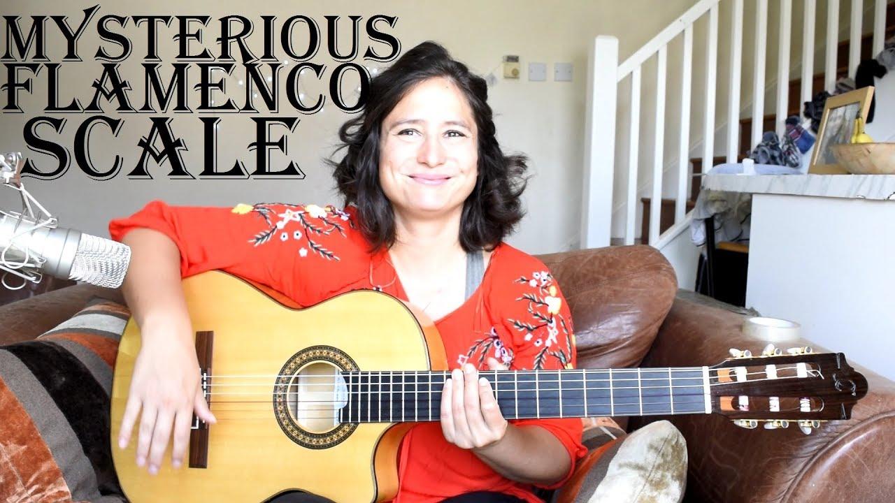 A very mysterious, Arabic-sounding flamenco guitar scale – harmonic minor