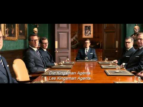 KINGSMAN: THE SECRET SERVICE - Official Trailer HD - English/Deutsch/Français Edf