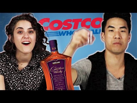 Costco Liquor Vs. Brand-Name Liquor Taste Test [WATCH]