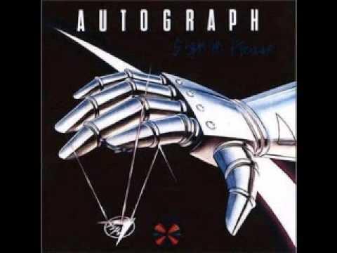 Autograph - Thrill of love lyrics
