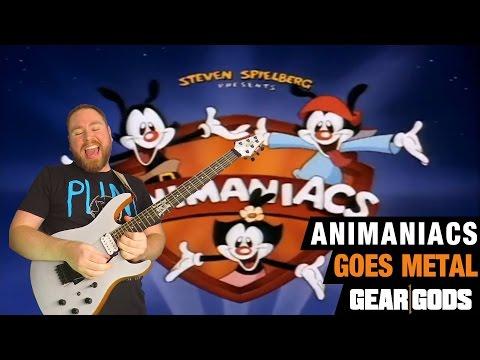 Animaniacs Metal (Cartoon Theme Song Shred Guitar) | GEAR GODS