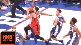 Joel Embiid broke Fred VanVleet / VanVleet Injury / Sixers vs Raptors