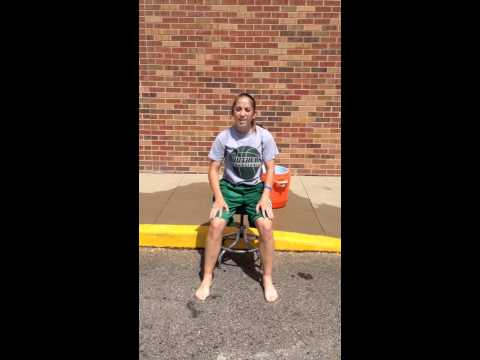 Haley Wolf Ice Bucket Challenge