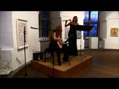 Olga Reiser (Flöte) & Yuliya Lonskaya(Gitarre))