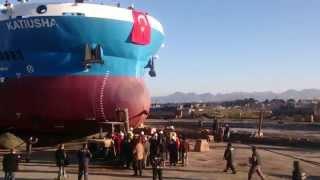 Terme Tersanesi  Balonla Denize İniş 15/03/2014