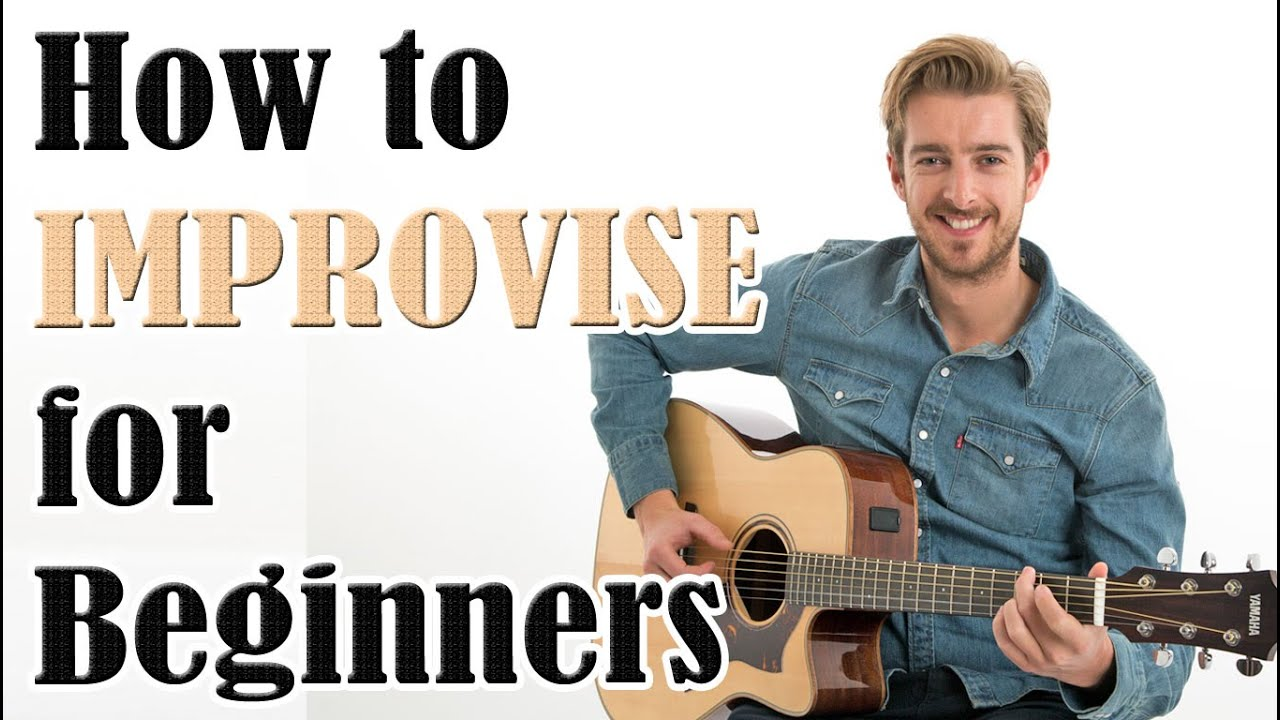 How to Create Easy Melodies (Improvisation for Beginners Guitar Lesson)