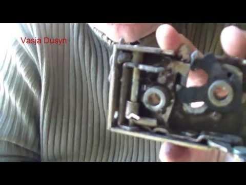 Замена замка зажигания ауди 80 б3 видео