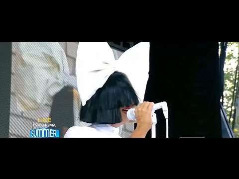 Sia Cheap Thrills LIVE Good Morning America Performance 22.07.2016