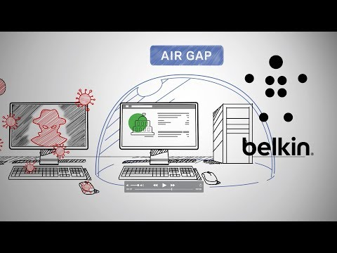 Belkin Secure KVM – What is Air Gap?