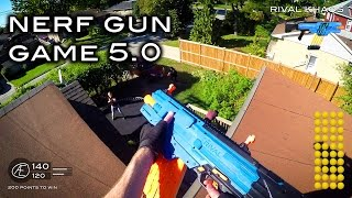 Video Nerf meets Call of Duty: Gun Game 5.0 | First Person in 4K! MP3, 3GP, MP4, WEBM, AVI, FLV Mei 2019