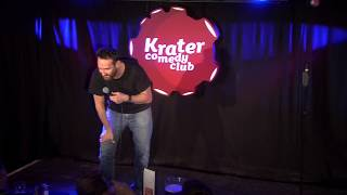 Krater Comedy – Meeting people with unexpected jobs