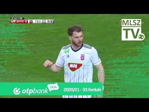 33. forduló: DVTK - Fehérvár 0-4 (0-1)