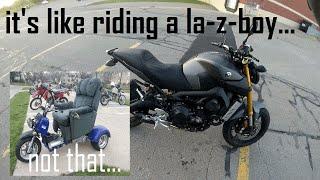10. Corbin Gunfighter Seat Review for Yamaha FZ-09
