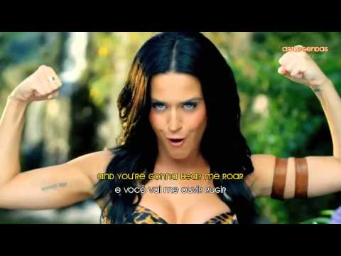 katy - ROAR LEGENDADO KATY PERRY ROAR LEGENDADO E COM LETRA VIDEO CLIPE ROAR.