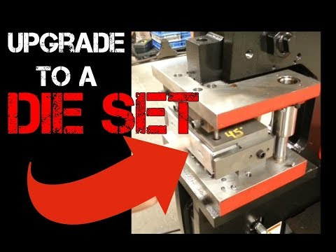 Forming and Cutting Steel with Die Sets