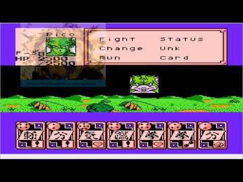 Dragon Ball Z Gaiden : Saiyajin Zetsumetsu Keikaku NES