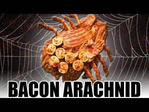 bacon - Bacon, spiders and Tom Green. This is our next-level bacon pet! LIKE, FAVORITE and SUBSCRIBE!!! Watch our new howto cooking show, Handle It! http://youtube.c...