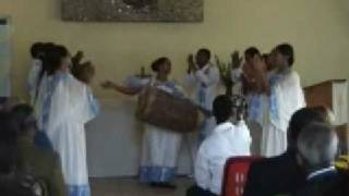 Ethiopian Christian Choir With Drum