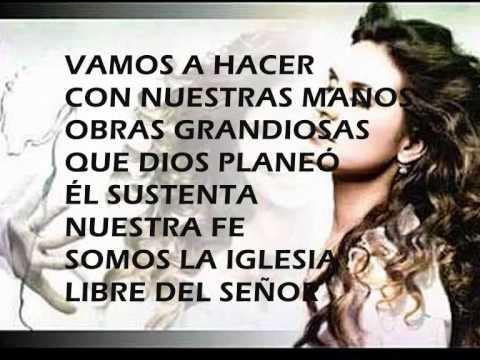 SOMOS LIBRES (Letra Español) - ALINE BARROS