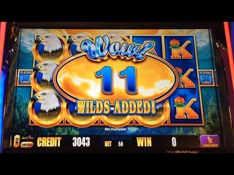 ++NEW Eagle Pays slot machine, Live Play & 3 Extra Wild Bonuses, Nice Win