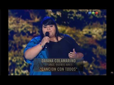 """Performance Cuartos de final: Daiana canta """"Canción con todos"""" – Elegidos #Elegidos"""