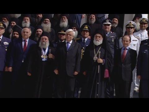 Πρώτη επίσκεψη του Προέδρου της Δημοκρατίας στη Μοναστική Πολιτεία του Άθω