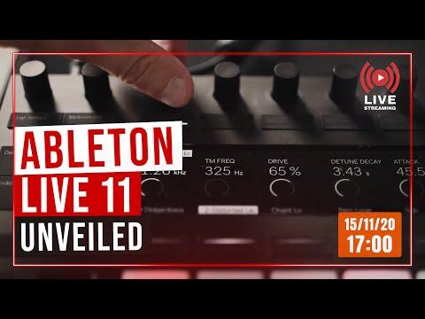 ABLETON LIVE 11: DIRETTA STREAMING CON MUSICOFF!!!